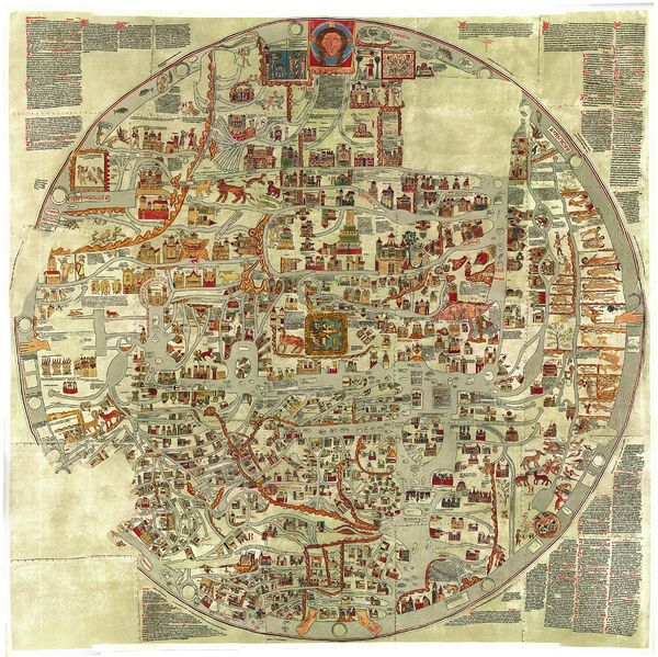 ebstorfer weltkarte interaktiv Die Ebstorfer Weltkarte – MediaeWiki, das Mediävistik Wiki